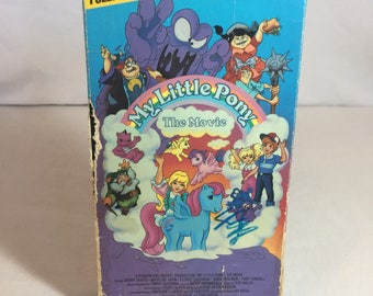 1986 My Little Pony Movie VHS tape
