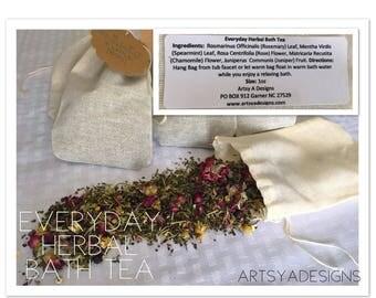 Everday Herbal Bath Tea