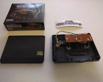 Mini Sega Genesis case pre-modded and ready for Raspberry Pi 3