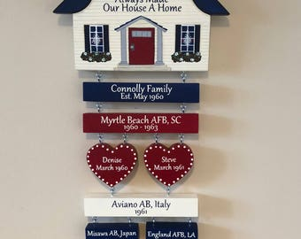 Home is Where the Air Force, Army, Navy, Coast Guard, Marines Sends Us