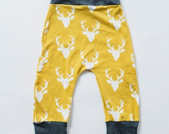 Baby Deer Clothes, Harem Baggy Pants, Grow With Me, Boho Baby Clothes, Baby Joggers, Grow Pants, Baby Leggings, Harems, Take Home Outfits