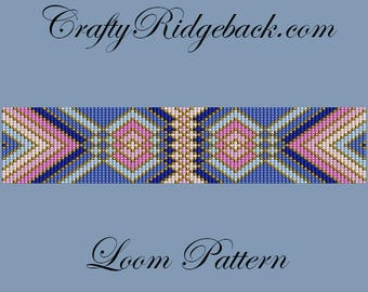 Cuff Bracelet Loom Pattern