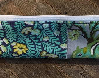 Pencil bag/pencil pouch/cotton pouch/zipped pouch/zippered pouch