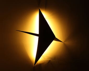 Cygnus Lightyears. Constellation light for your wall.