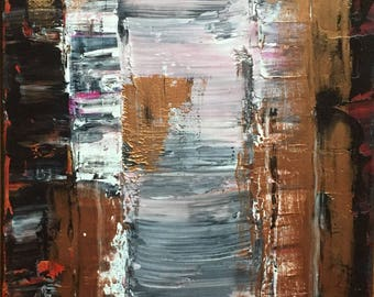 Abstract/Copper Painting