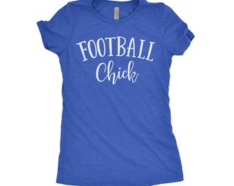 Game Day Shirt, Football Chick, Game Day Jersey, Fantasy Football, Football Season, College Football, Next Level Apparel Tri-Blend Shirt