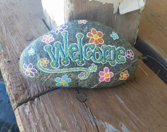 Welcome Painted Rock