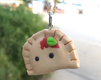 Ravioli necklace