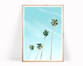 Palm Tree Art, Tropical Print, Beach Print, Palm Tree Print,  Palm Tree Photo, Tropical Wall Art, Palm Print, Palm Leaf Print, Tropical Art