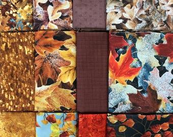 Fall Fabrics - 12 Fat Quarters