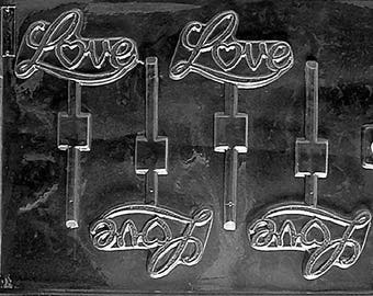 V77- Love Lollipop Chocolate Mould
