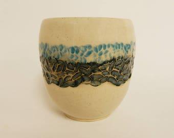 Blue 'Gradient Stones' Planter