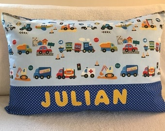 Car cushion with name