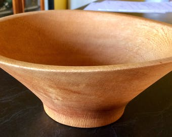 SPECIAL !! Handcrafted New Green Turned silky oak (warped) Timber Wooden Bowl Fruit, Jewelery, Keys