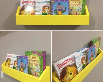 Hanging Book Shelf hanging book shelf | etsy