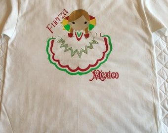 Fuerza Mexico tshirt