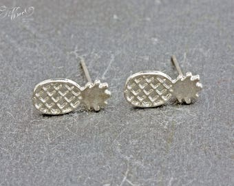 "Trendy earrings ""Pineapple"" pineapple"