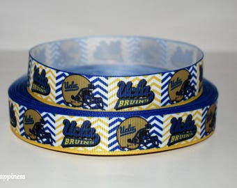 "UCLA 7/8"" Grosgrain Ribbon 229B"