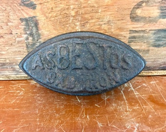 Antique Asbestos Sad Iron
