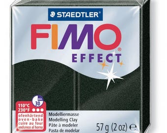 Polymer clay Fimo Effect 57 g - Black Pearl n - 907
