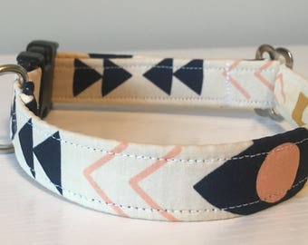 Custom Handmade Dog Collar 'Ellie'