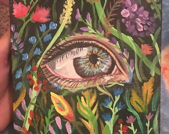 Eye of the Garden Small Painting