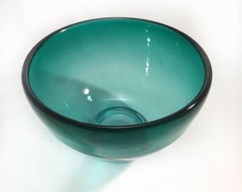Lagoon Bowl w/ Clear Foot