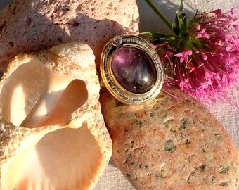 Amethyst ring - Violeta