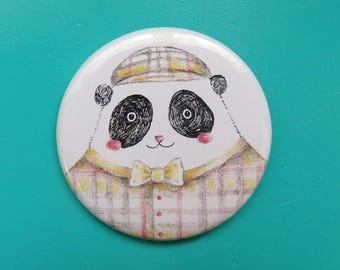"""""""Panda Sherlock"""" badge"""