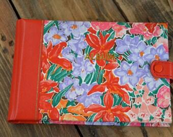 Original Liberty Floral Photo Album, Vintage Photo Album, Photo Album, Liberty London, Gifts for Her, Wedding Gift, Floral Album, Liberty