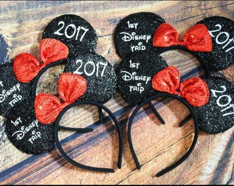 Mickey Minnie Disney Ears