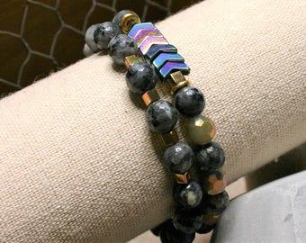 Metals Bracelet Stack