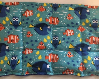 2 pound weighted childs lap pad- finding dory