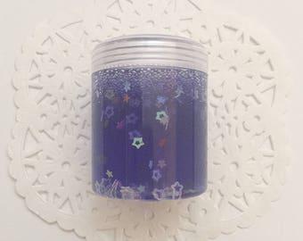 Purple Rainbow Star Slime - Mini