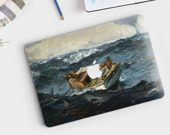 "Winslow Homer, ""The Gulf Stream"". Macbook Pro 15 cover, Macbook Pro 13 cover, Macbook 12 cover. Macbook Pro cover. Macbook Air cover."