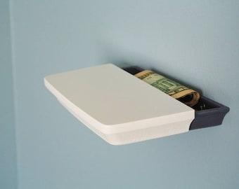 Secret Shelf | Small Shelf | Hidden Compartment | Secret | 3D Printed | Home | Decoration