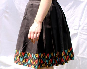 Plaid Skirt 'To boldly go'