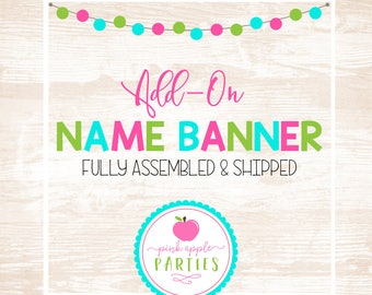 Add-On Name Banner
