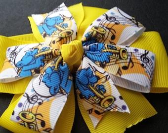 Smurfs Pinwheel Bow