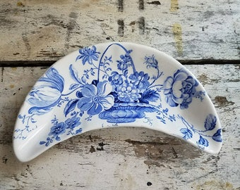 Vintage Ironstone / Royal Crownford Ironstone / English Ironstone / Vintage Farmhouse / Vintage Transferware / Ironstone Bone Dish / Cottage