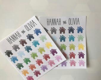 Home - Matte Stickers / Planner Stickers