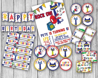 Pete the Cat Birthday Pack