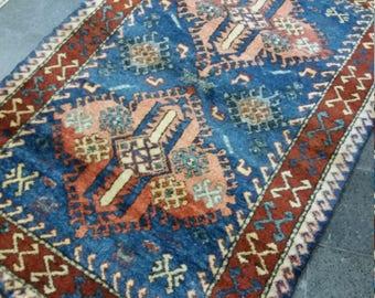 "Oushak Rug,Turkish Rug,Vintage Rug,4'7""×5'7''ft,Home LivingArea rug,Oushak Carpet,Fashion Rug,Turkish Carpet,Rugs,Etsy Carpet,Rug"