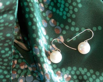 pearl dangle earrings sterling silver dangle earrings silver earrings dangle long dangle earrings dangle silver hoop earrings white pearl ea