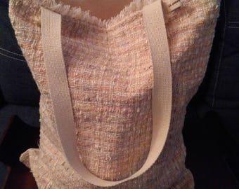 Totebag recycled skirt