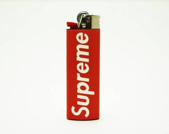 Supreme Bic Lighter - Custom Made - Unique - High Quality