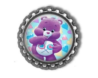 Care Bears SHARE BEAR 3D Finished Bottle Cap