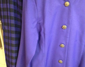 Vintage Purple Suit w/ Skirt
