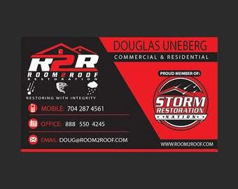 Custom Business Card Design - printable business cards, card design, creative business cards, business cards, professional business cards