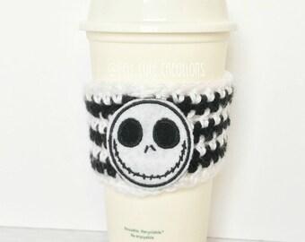 Jack Skellington Coffee Cozy